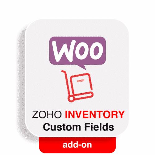wooommerce zoho inventory custom fields