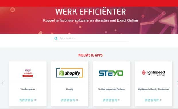 exact app center woocommerce